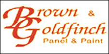Brown & Goldfinch Panel & Paint